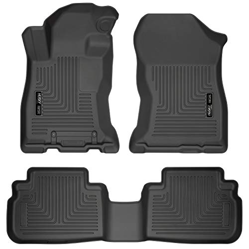 2017 Exclusive Car Mats - Husky Liners Fits 2019 Subaru Forester Weatherbeater Front & 2nd Seat Floor Mats