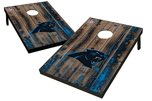(Wild Sports NFL Carolina Panthers Unisex Carolina Panthers Tailgate Toss Bean Bag Gamecarolina Panthers Tailgate Toss Bean Bag Game, Team Color, 2'x3')