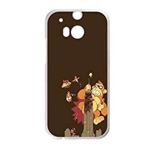 King Kong Vector HTC One M8 Cell Phone Case White Gift pjz003_3378216