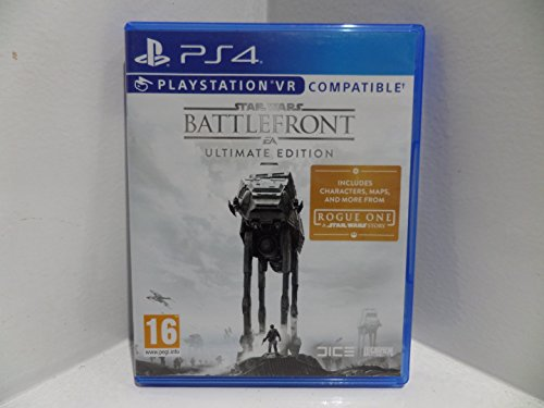 Star Wars Battlefront Ultimate Edition (PS4) (Star Wars Battlefront Ultimate Edition Playstation 4)
