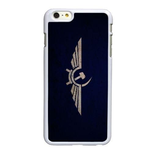 O9Y52 symbole de l'union soviétique O7Q3ME coque iPhone 6 Plus de 5,5 pouces cas de couverture de téléphone portable coque blanche II4DXV2TN
