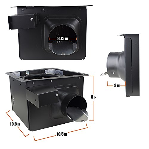 BV Ultra-Quiet 150 CFM, 2.0 Sones Bathroom Ventilation for sale  Delivered anywhere in Canada