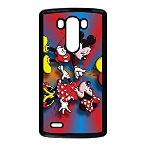 Disney Mickey Mouse Minnie Mouse LG G3 Cell Phone Case Black Gift PX6REN-2644851