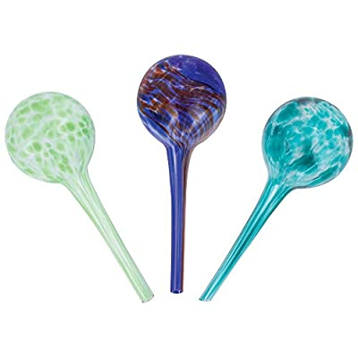 "Wyndham House 3 pc Mini Watering Globe Set (Glass - 8"")"