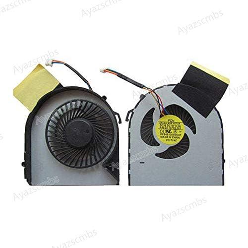 Ayazscmbs Compatible para DFS481305MC0T FC38 CPU Enfriador Ventilador para Acer Aspire V5 V5-531 V5-531G V5-571 571G V5-471 471G PC Ventilador enfriamiento Ventilador