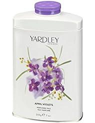 Yardley London April Violets Perfumed Talc 7 oz