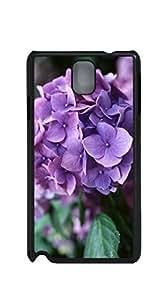 TUTU158600 Good Vibes Unique Fashion Printing Phone phone case for samsung galaxy note3 - Purple Bougainvillea
