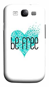 Best Top Samsung Galaxy S3 Cases and Covers Be Free Polycarbonate Hard 3D Case for Samsung Galaxy S3 SIII I9300