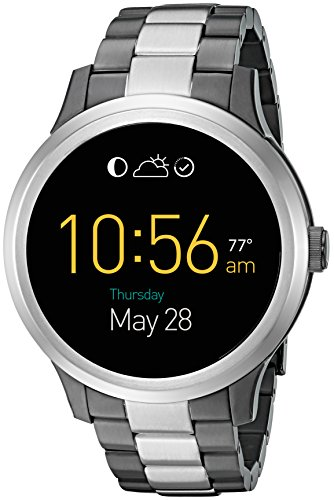 Fossil-Q-Founder-Gen-1-Touchscreen-Two-Tone-Gunmetal-and-Stainless-Steel-Smartwatch