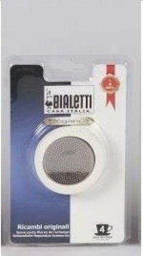 Compra Bialetti – Junta de goma y filtro para 4 tazas, Cafetera ...