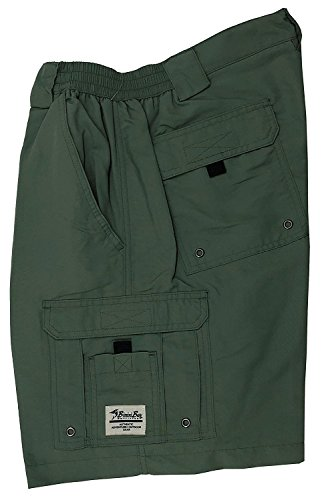 Bimini Bay Outfitters Boca Grande Nylon Short 31610, Everglade, (Anthony Pocket)
