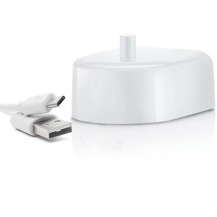 Aptoco Cargador de cepillo de dientes para el reemplazo de cepillo de dientes eléctrico para Braun