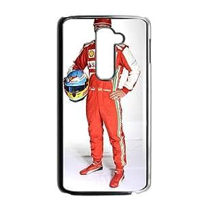 Fernando Alonso Black Phone Case for LG G2
