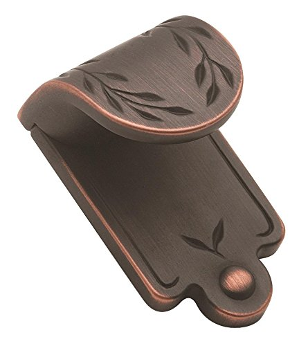 nspirations Leaf 1-7/8-Inch Wide Finger Pull, Oil Rubbed Bronze ()