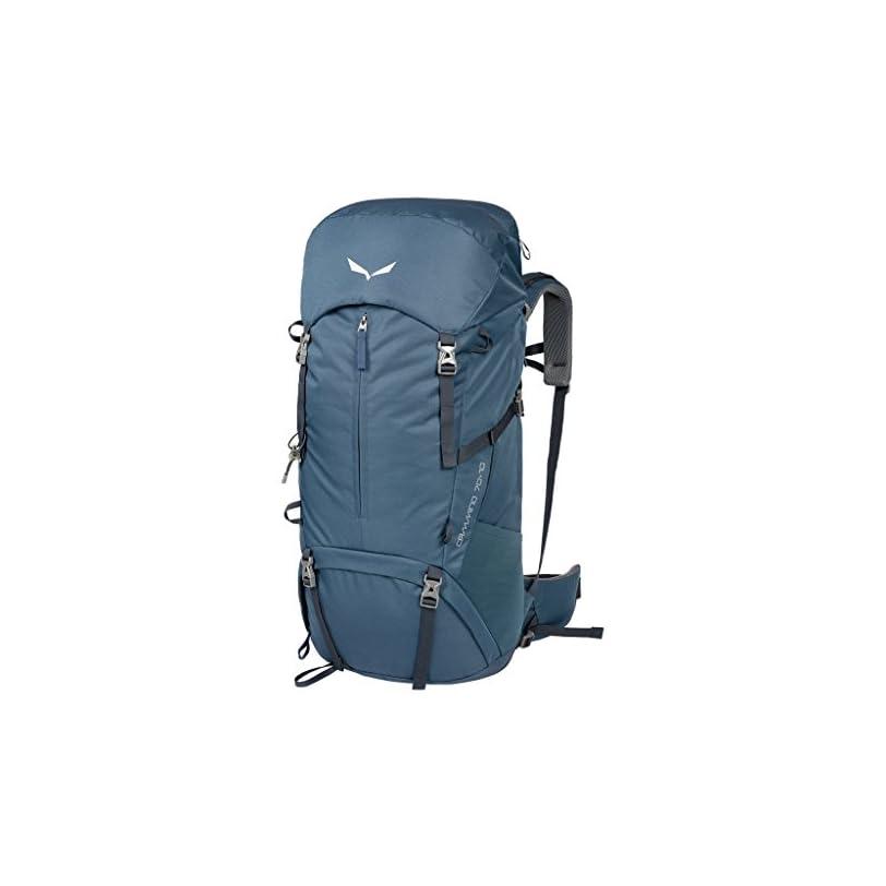 SALEWA Cammino – Zaino da Trekking con parapioggia e supporto per bastoncini