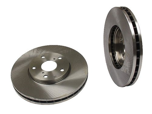 Brembo 25555 Front Disc Brake Rotor - Front Rotor Slotted Brembo