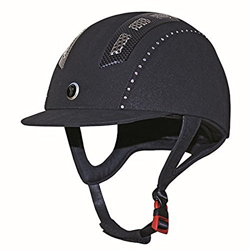 Gatehouse Suedette Chelsea Air Flow Pro Riding Hat  21 25 Inches   Crystal Navy