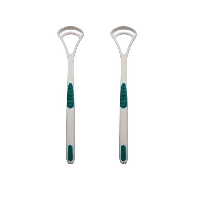 Babysbreath 2pcs / set raspadores limpiador de lengua rasguño revestimiento de la lengua cepillado limpiador de la lengua Color aleatorio: Amazon.es: ...