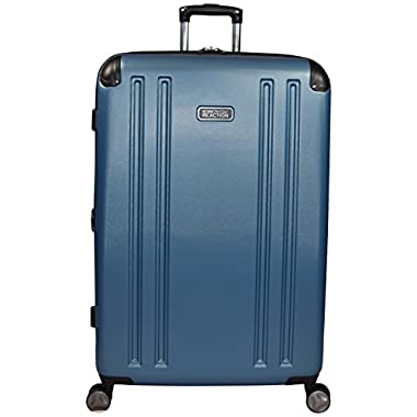 Kenneth Cole Reaction 8 Wheelin Expandable Luggage Spinner Suitcase 29  (Ocean Blue)