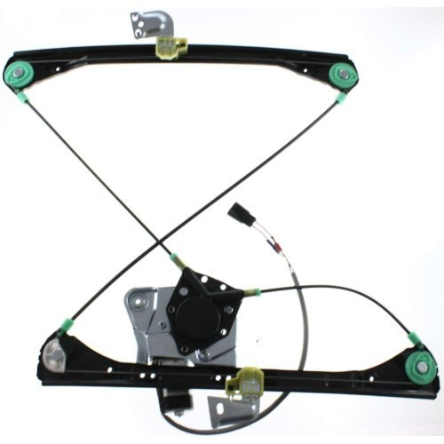 Evan-Fischer EVA16772032240 Window Regulator for GRAND AM 99-05 FRONT Left Side Power w/Motor Sedan