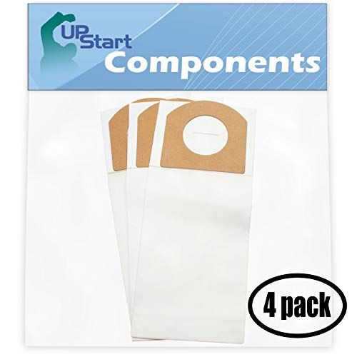 UpStart Battery 12 Replacement Dirt Devil 172 Vacuum Bags with 7-Piece Micro Vacuum Attachment Kit - Compatible Dirt Devil 3010348001, 3010347001, Type G Vacuum Bags (4 Pack - 3 Vacuum Bags per Pack)
