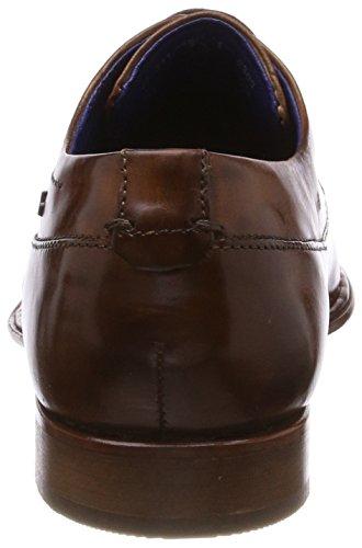 Bugatti 311449021100, Scarpe Stringate Derby Uomo Marrone (Cognac)
