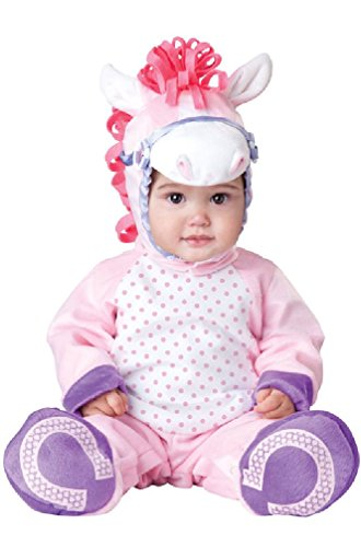 [8eighteen Pretty Little Pony Jumpsuit Infant/Toddler Halloween Costume] (Witch Pretty Pink Toddler Costumes)