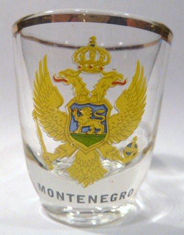 Montenegro Shot Glass