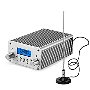 15W FM Transmitter,Fm Transmitter for Church,Fm Broadcast Transmitter, 87~108MHz FM Radio Transmitter High-Fidelity… MP3 and MP4 Player Accessories