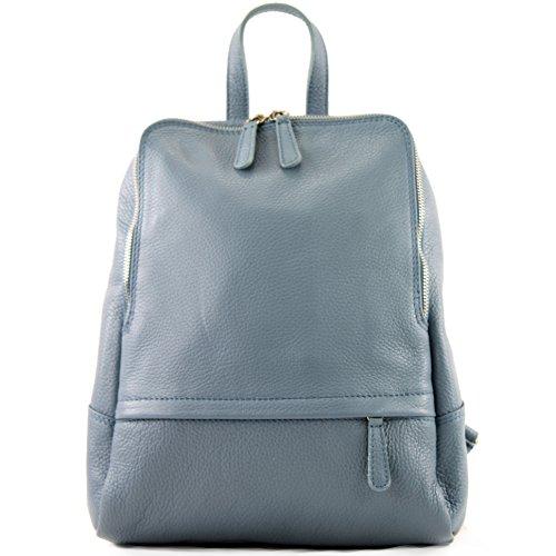 sac à sac dos T138 Sac dos en en cuir dos Citybag cuir dames Taubenblau à à sac CRxUp