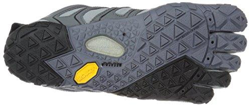 Vibram black orange grey Fivefingers Grigio Sneaker Uomo trail V ggzrp