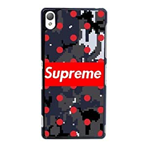 Supreme Logo for Sony Xperia Z3 Custom Cell Phone Case Cover 99TY000385