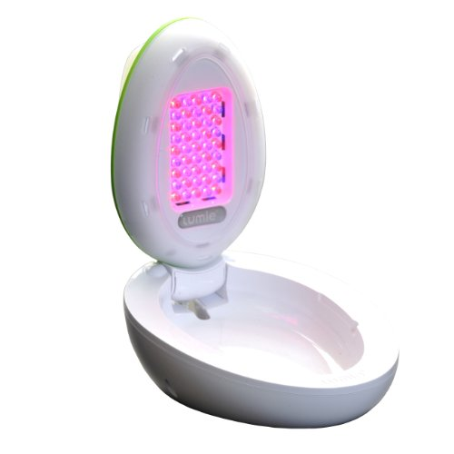 Lumie Clear - Acne Treatment at Home with Red and Blue Light Therapy
