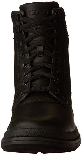 Clarks Kimball Stijgen Mens Lace Up Winter Laarzen Zwart 8.5