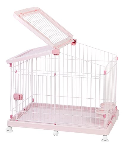 Buy dog crate small pink