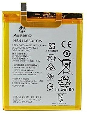 OEM-spec Huawei Nexus 6P Replacement Battery HB416683ECW 3450mAh by Asesino (Battery Only)