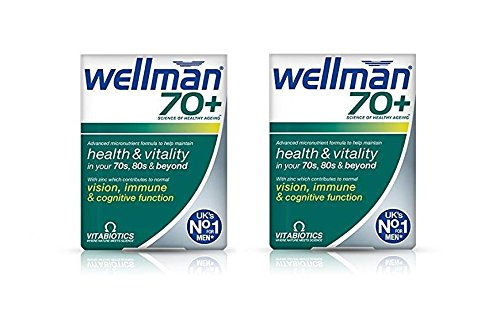 Wellman 70 Plus Tablets - Pack Of 30 Tablets (Pack of 2)