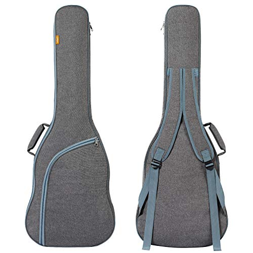 CAHAYA Electric Guitar Bag Padded Electric Guitar Gig Bag Case 0.35in Padding Dual Adjustable Shoulder Strap Electric Guitar Case