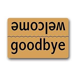 Welcome-goodbye Indoor/Outdoor Doormat