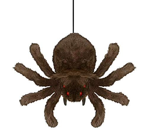 Tekky Toys Mini Hanging Shaking Spider Halloween Prop]()