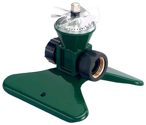 Orbit 58333 Lawn & Garden Cyclone II Tandem Base Rotating Sprinkler