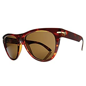 Electric Visual Women's Arcolux Round Sunglasses,Tortoise Shell Frame/Bronze Lens,One Size