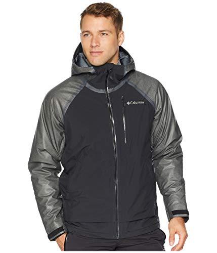 Mens Lightweight Hybrid Jacket - Columbia Men's Outdry¿ Glacial Hybrid Jacket Charcoal Heather/Black/Graphite X-Large