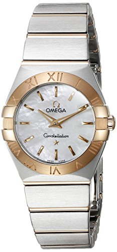 Omega-Womens-12320246005001-Constellation-Mother-Of-Pearl-Dial-Watch