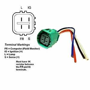 5 wire alternator wiring diagram 08 6 6 1988 ford 3 wire alternator wiring diagram #8