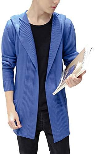 コーディガン メンズ カーディガン 春 大きいサイズ ビジネス ニット ゆったり ロング シンプル セーター 正規品 cmz24753