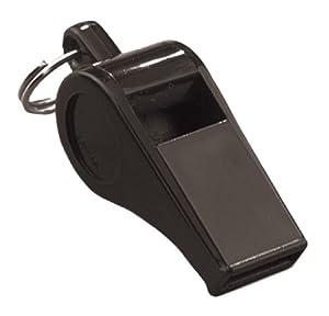 Markwort High Pitch Plastic Whistle (1 Dozen), Black