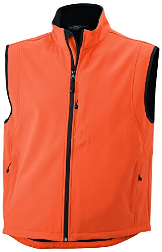 Membrana Vest In Pop orange Tre Gilé Men's A Funzionale Tessuto Strati Softshell xIaWzqH1w6