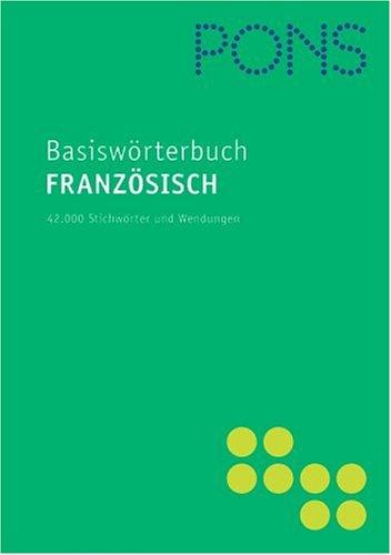 PONS Basiswörterbuch Französisch, Neubearbeitung
