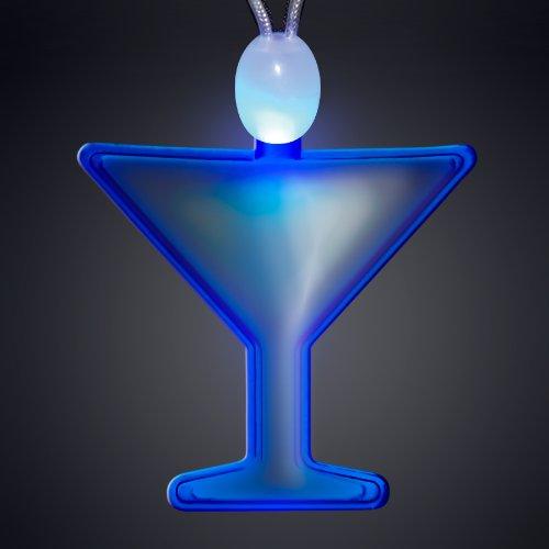 Blue Martini Acrylic Light Up LED